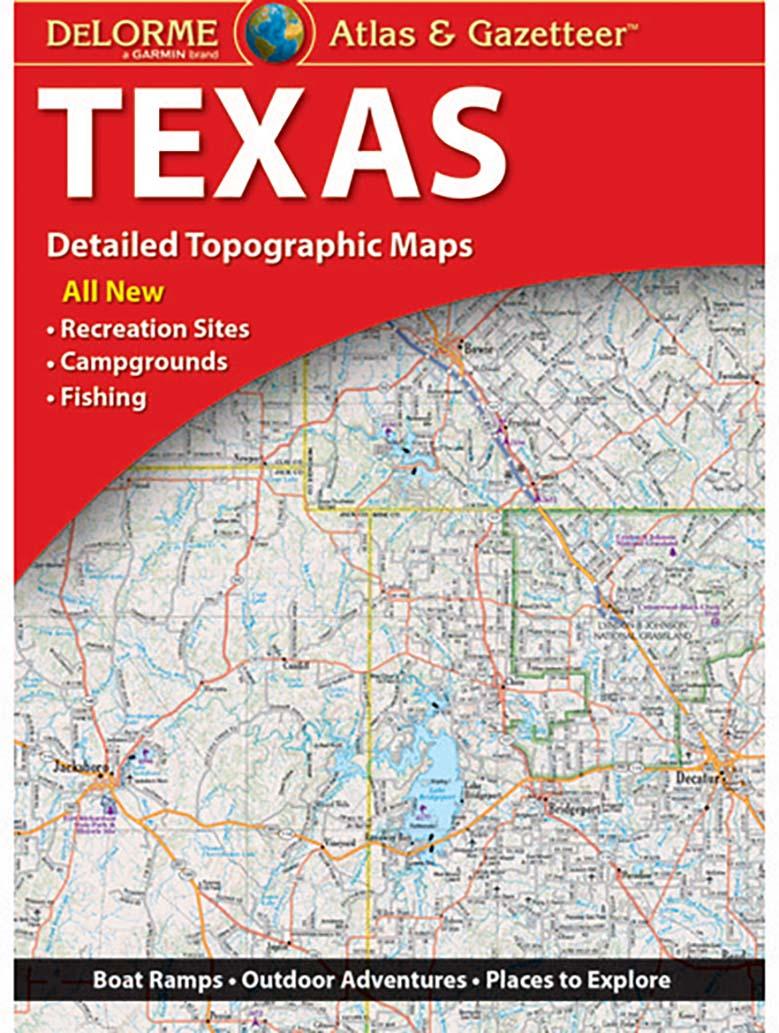 Texas Atlas & Gazetteer – Kappa Map Group - Texas Atlas Map