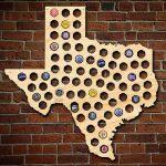 Texas Beer Cap Map   Texas Beer Cap Map
