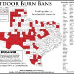 Texas Burn Ban Map Magic Kingdom Park Map   Texas Burn Ban Map