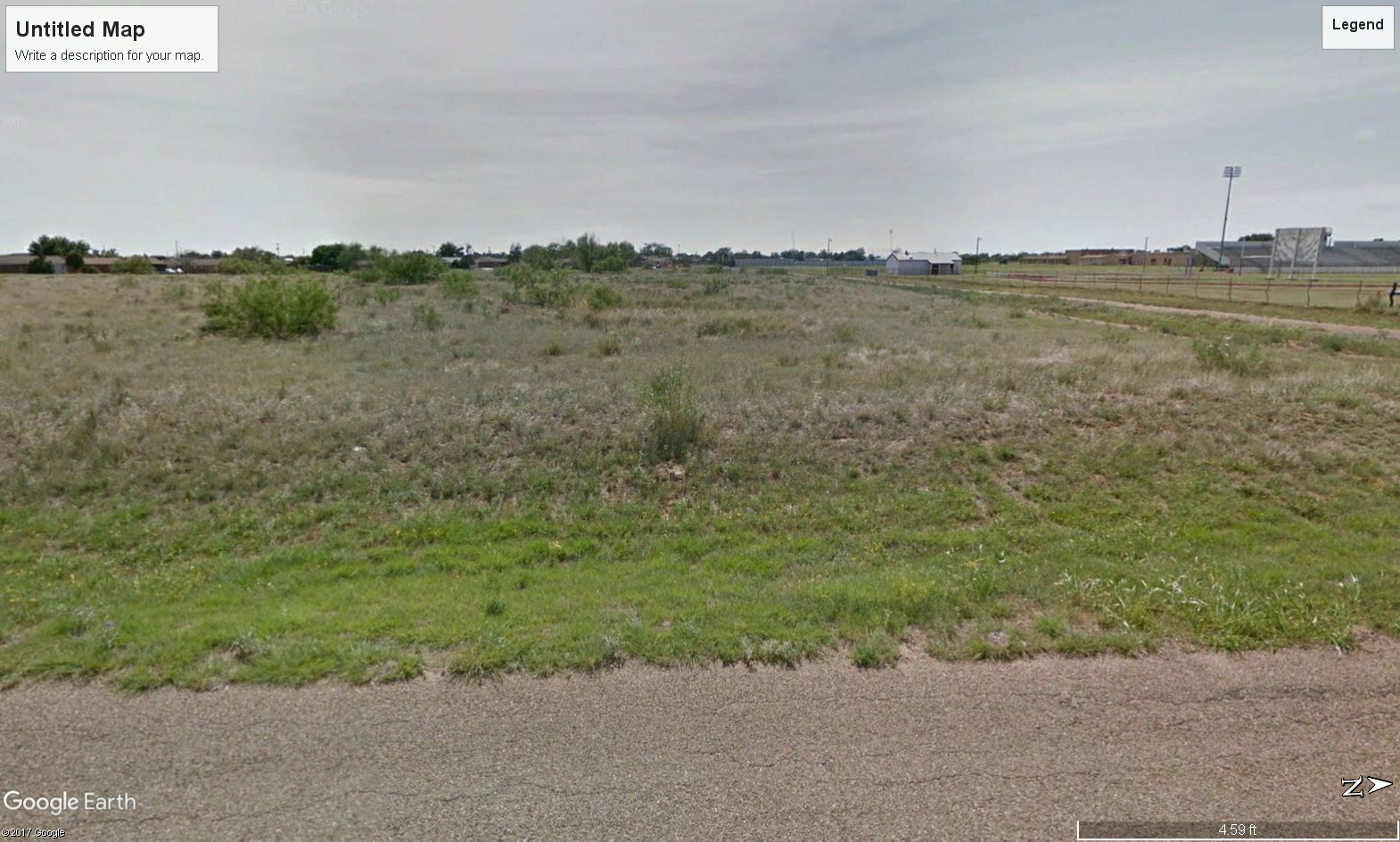 Texas Cg | Lubbock, Texas | Southwest Intersection Of Yucca And Boot - Fritch Texas Map