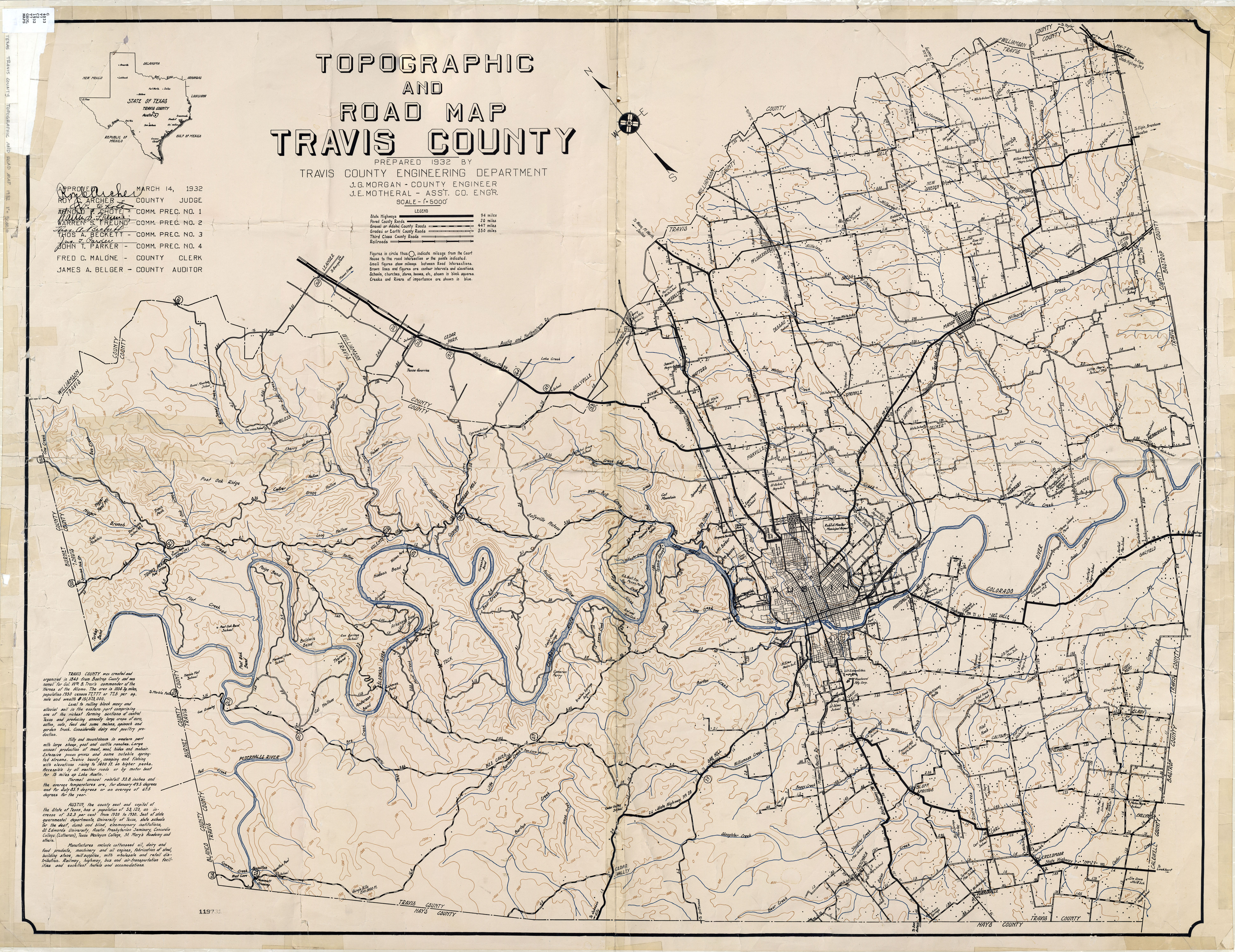 Texas Cities Historical Maps - Perry-Castañeda Map Collection - Ut - Street Map Of Mckinney Texas