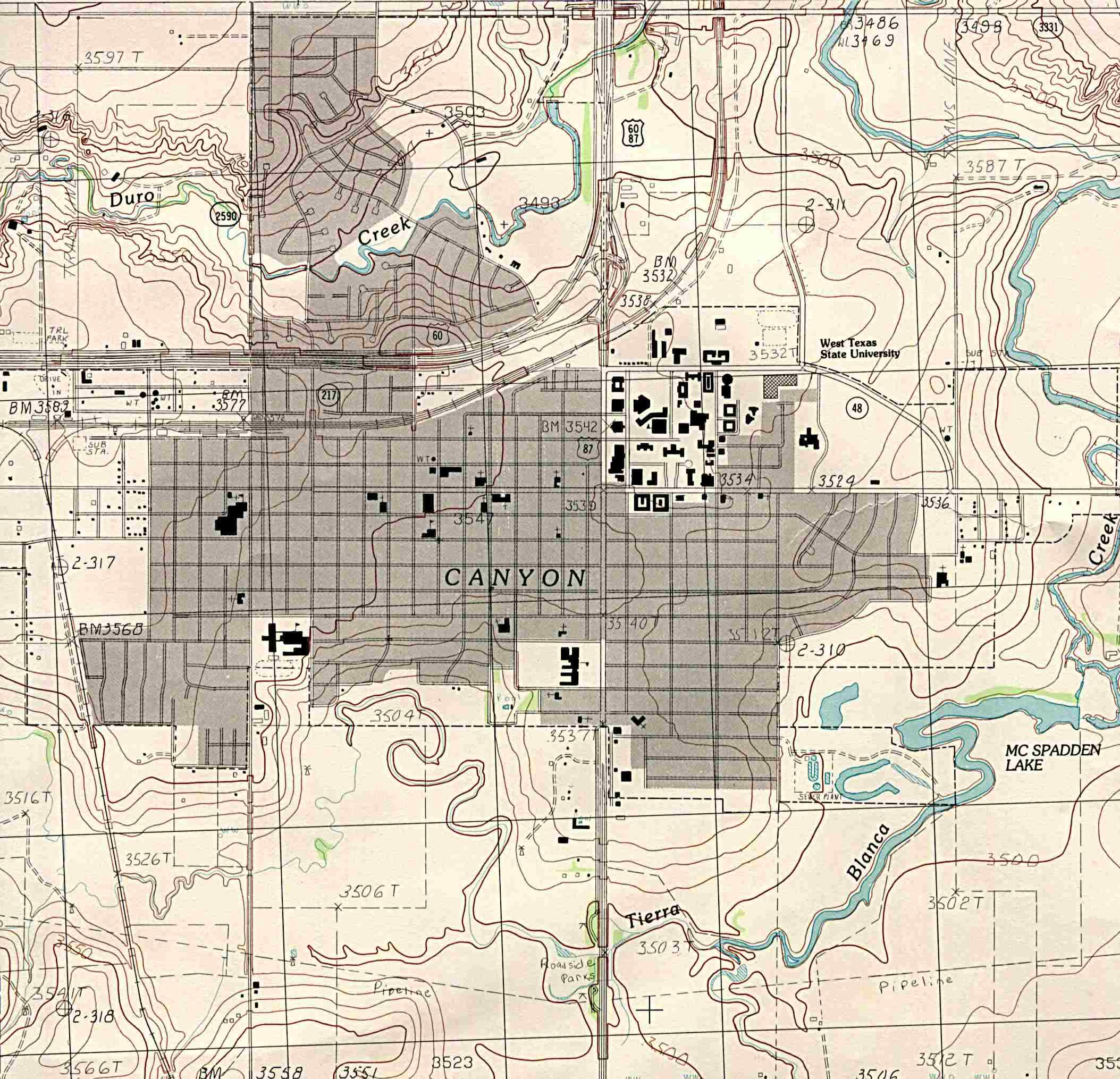 Texas City Maps - Perry-Castañeda Map Collection - Ut Library Online - Google Maps Waco Texas