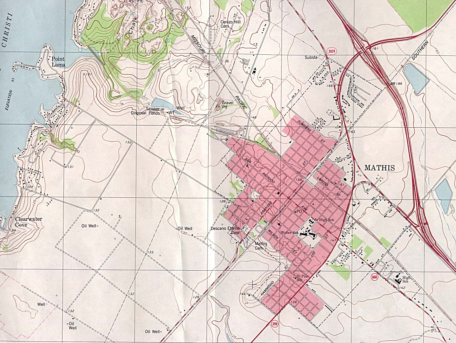 Texas City Maps - Perry-Castañeda Map Collection - Ut Library Online - Mansfield Texas Map