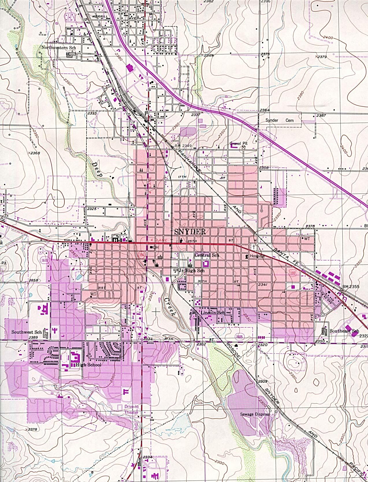 Texas City Maps - Perry-Castañeda Map Collection - Ut Library Online - Seguin Texas Map