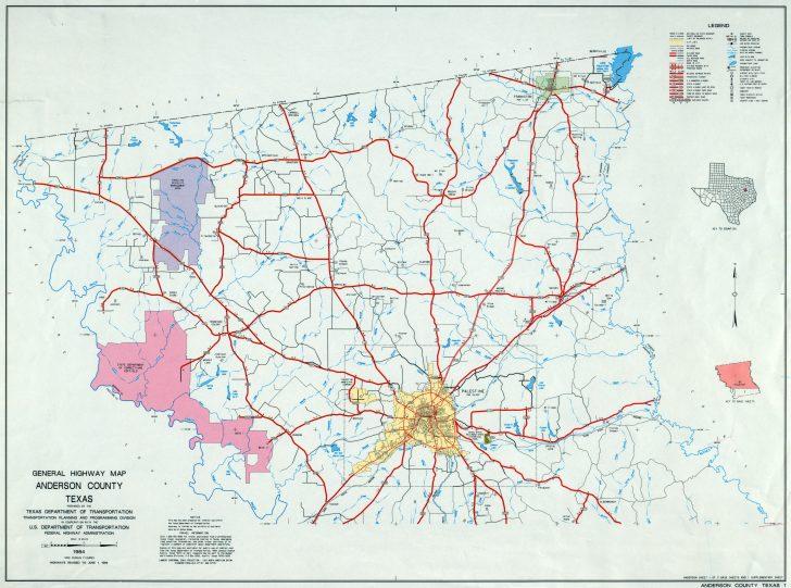 Crockett Texas Map