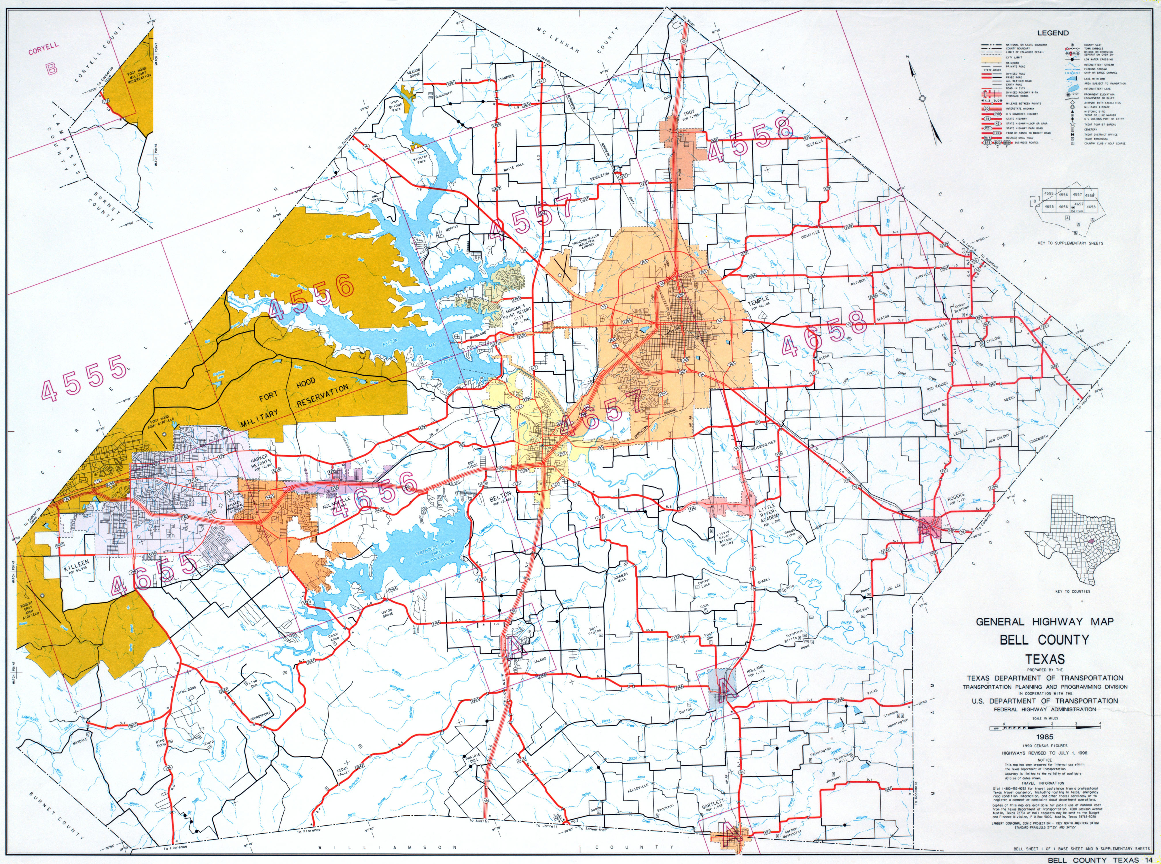 Texas County Highway Maps Browse - Perry-Castañeda Map Collection - Hidalgo County Texas Map