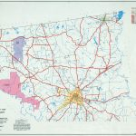 Texas County Highway Maps Browse   Perry Castañeda Map Collection   Marion Texas Map