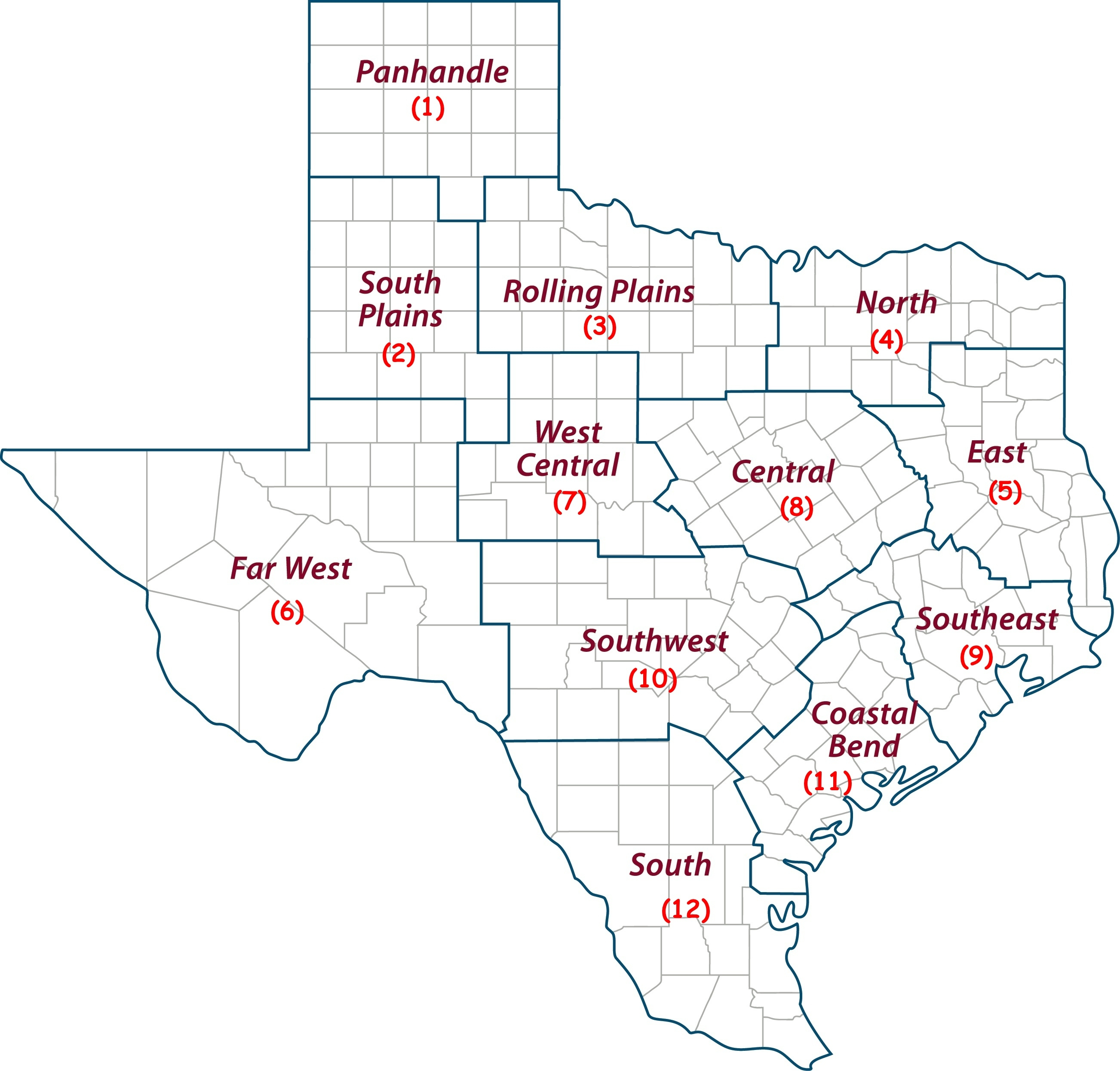 Texas Crop, Weather For Sept. 22, 2015 | Agrilife Today - Texas Rut Map