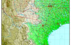 Texas Elevation Map – Florida Elevation Map Free
