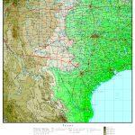 Texas Elevation Map – Texas Topo Map