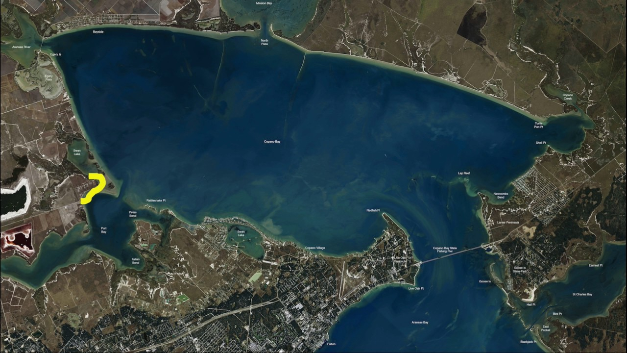 Texas Fishing Tips Kayak Fishing Report July 6 2017 With Rockport - Texas Kayak Fishing Maps