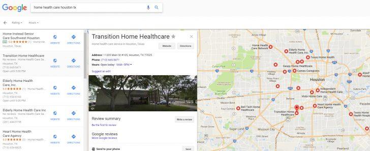 Houston Texas Google Maps