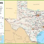 Texas Highway Map   Map Of Texas
