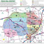 Texas Hill Country Map With Cities & Regions · Hill Country Visitor   Johnson City Texas Map