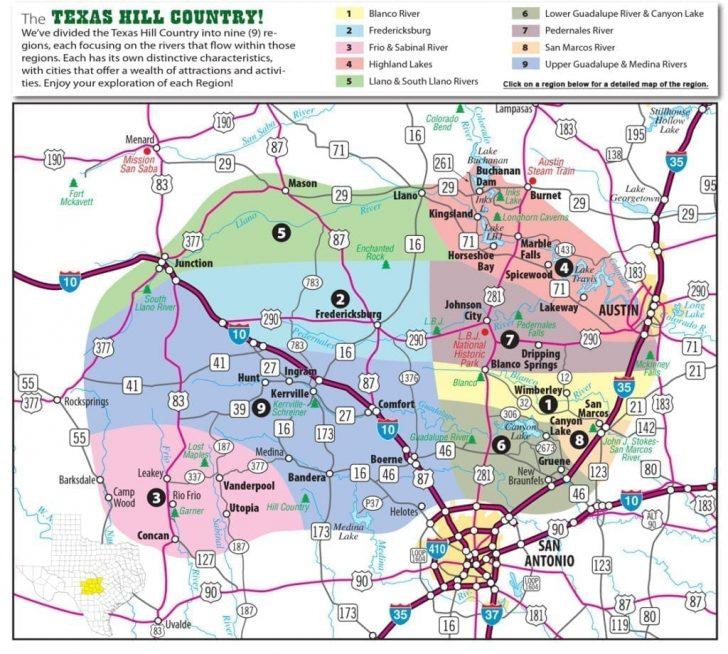 Spring Texas Map