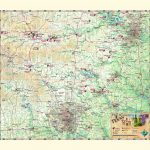 Texas Hill Country & Wine Wall Map   The Map Shop   Texas Wine Country Map
