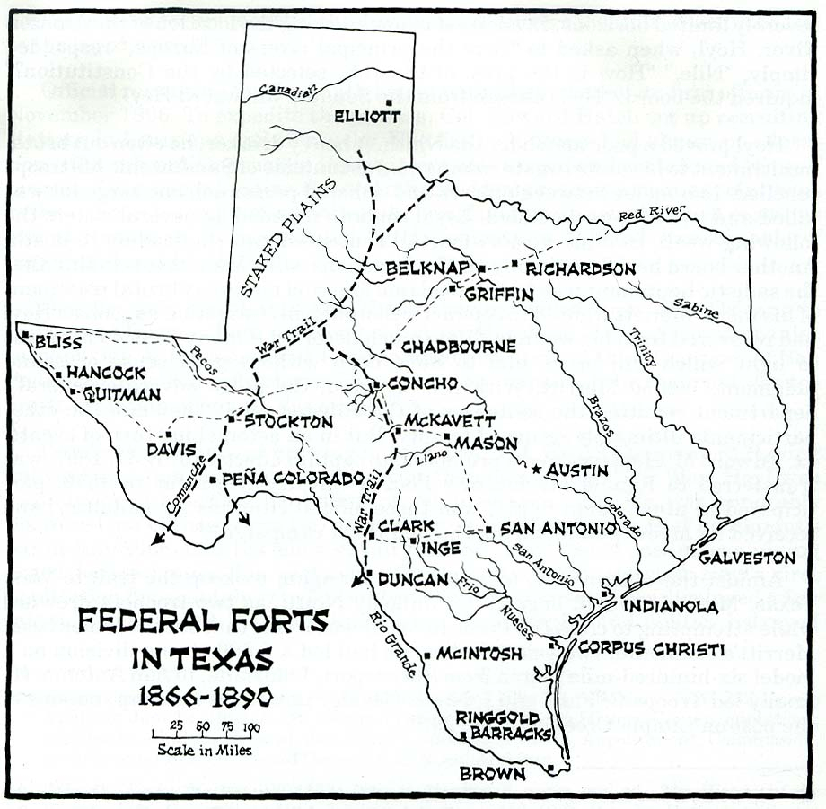 Texas Historical Maps - Perry-Castañeda Map Collection - Ut Library - Fort Davis Texas Map