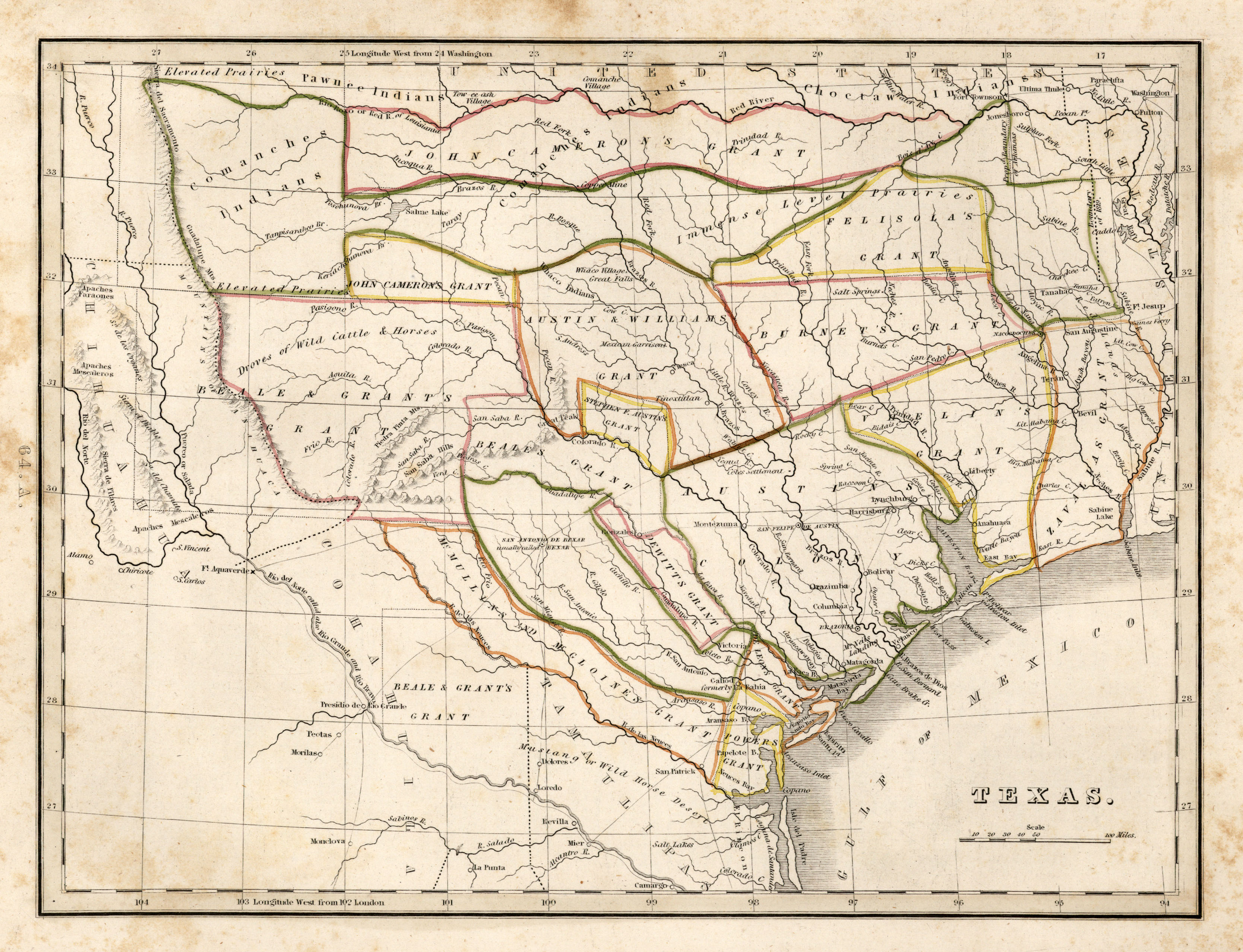 Texas Historical Maps - Perry-Castañeda Map Collection - Ut Library - Free Old Maps Of Texas
