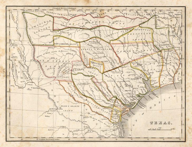Stephen F Austin Map Of Texas