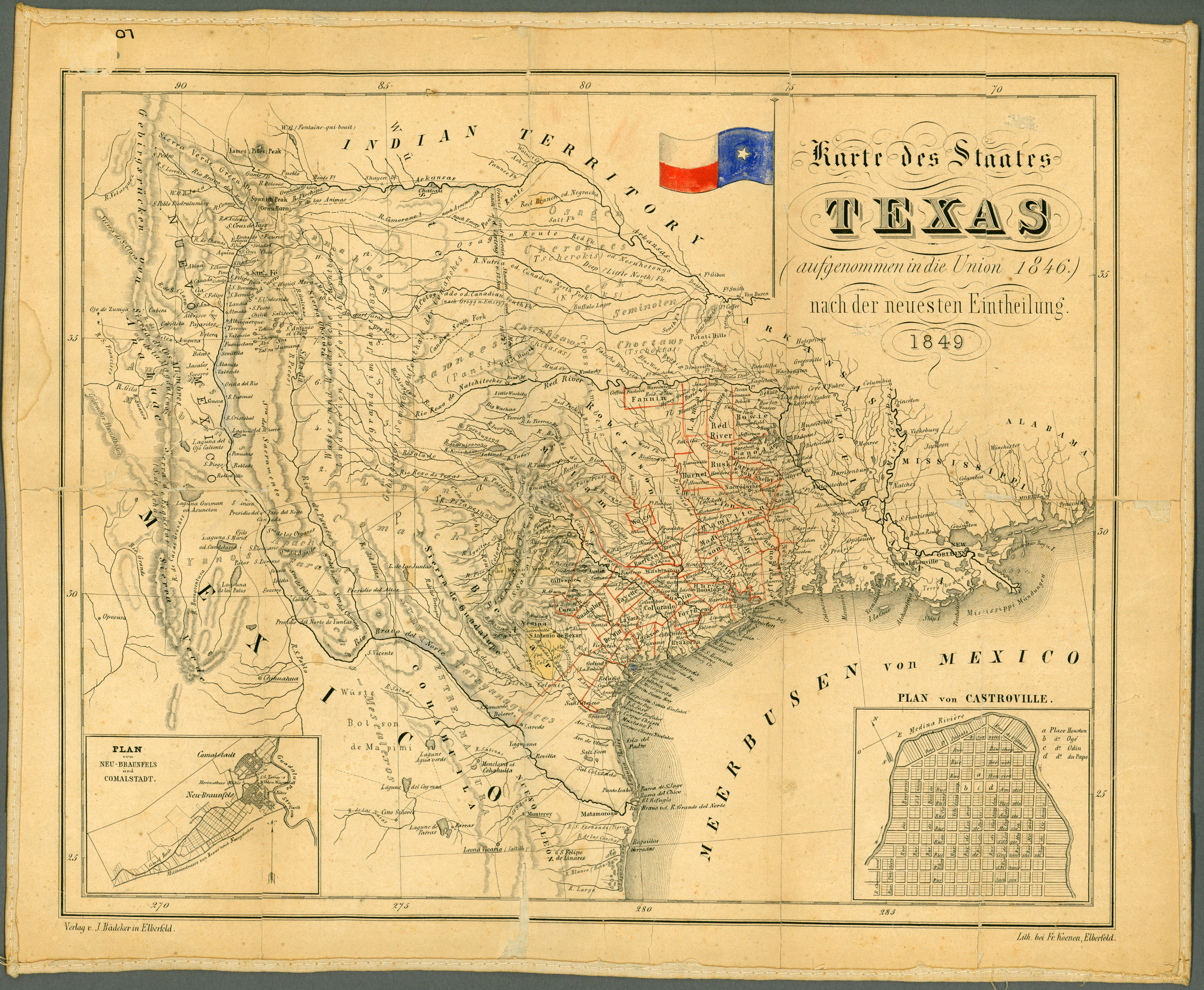 Texas Historical Maps - Perry-Castañeda Map Collection - Ut Library - Texas Map 1836