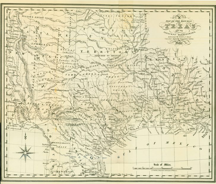 Texas Maps For Sale