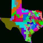Texas House Of Representatives Redistricting   Texas State Representatives Map