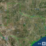Texas Hunt Zone North Texas General Whitetail Deer   Texas Hunting Map