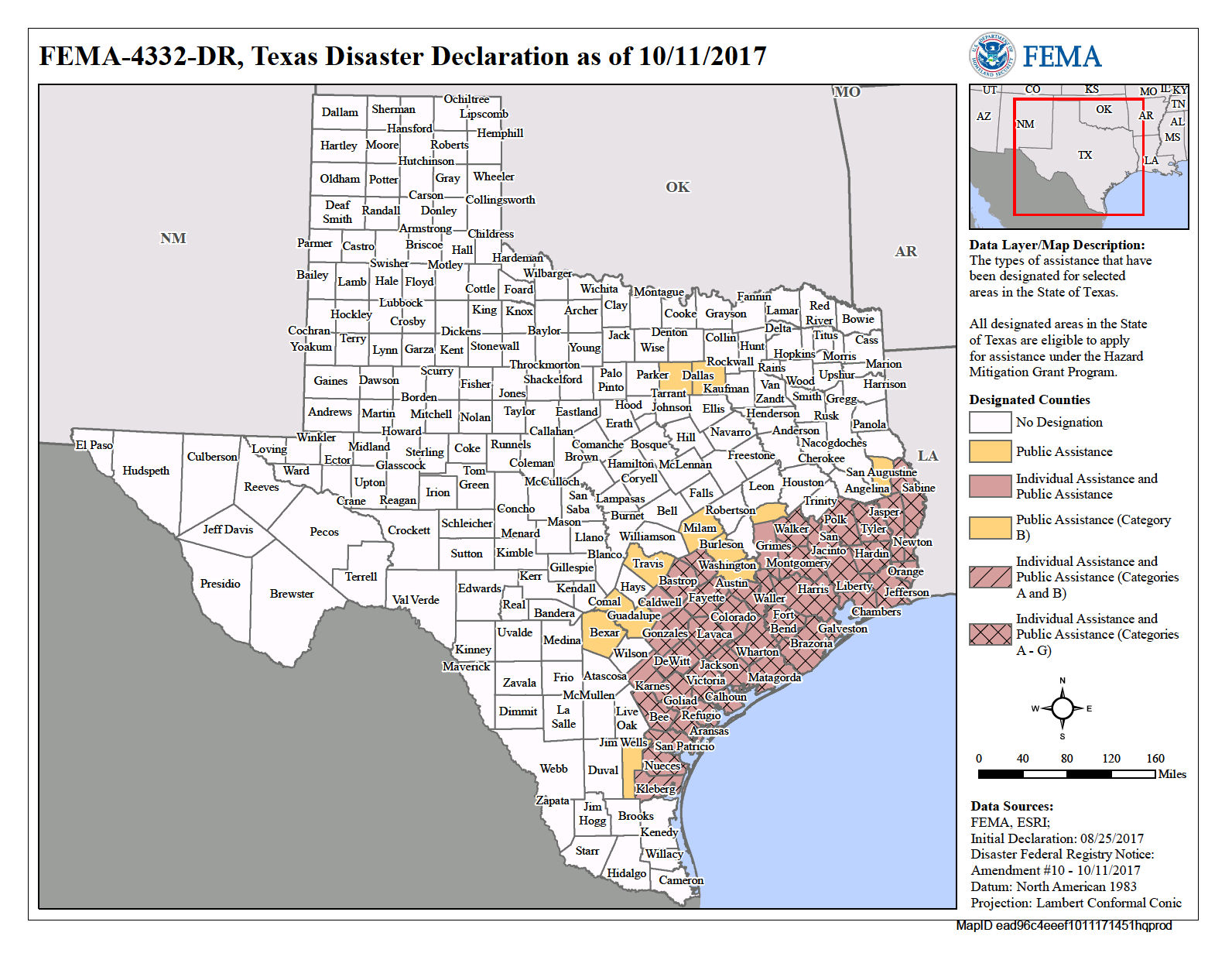 Texas Hurricane Harvey (Dr-4332) | Fema.gov - Fema Flood Maps Lee County Florida