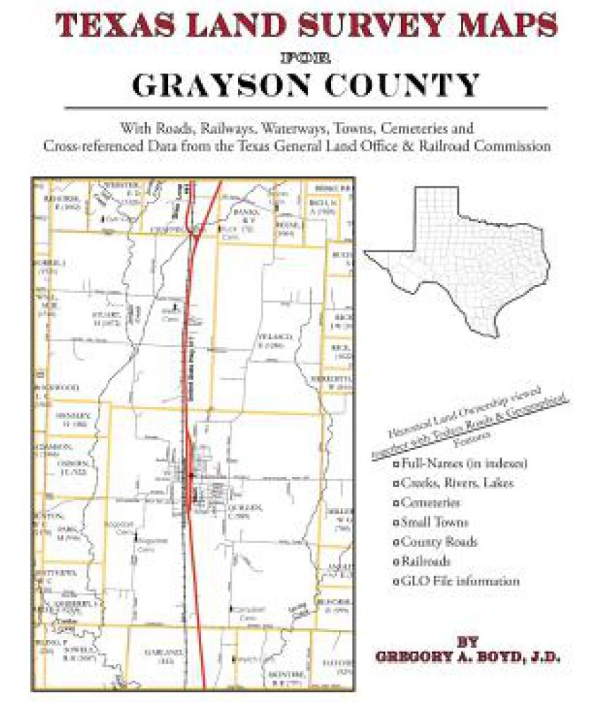 Texas Land Survey Maps For Grayson County: Buy Texas Land Survey - Texas Land Survey Maps