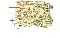 Texas Map Cities And Counties And Travel Information | Download Free – East Texas County Map