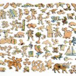 Texas Map   Wooden Jigsaw Puzzle   Liberty Puzzles   Made In The Usa   Texas Map Puzzle