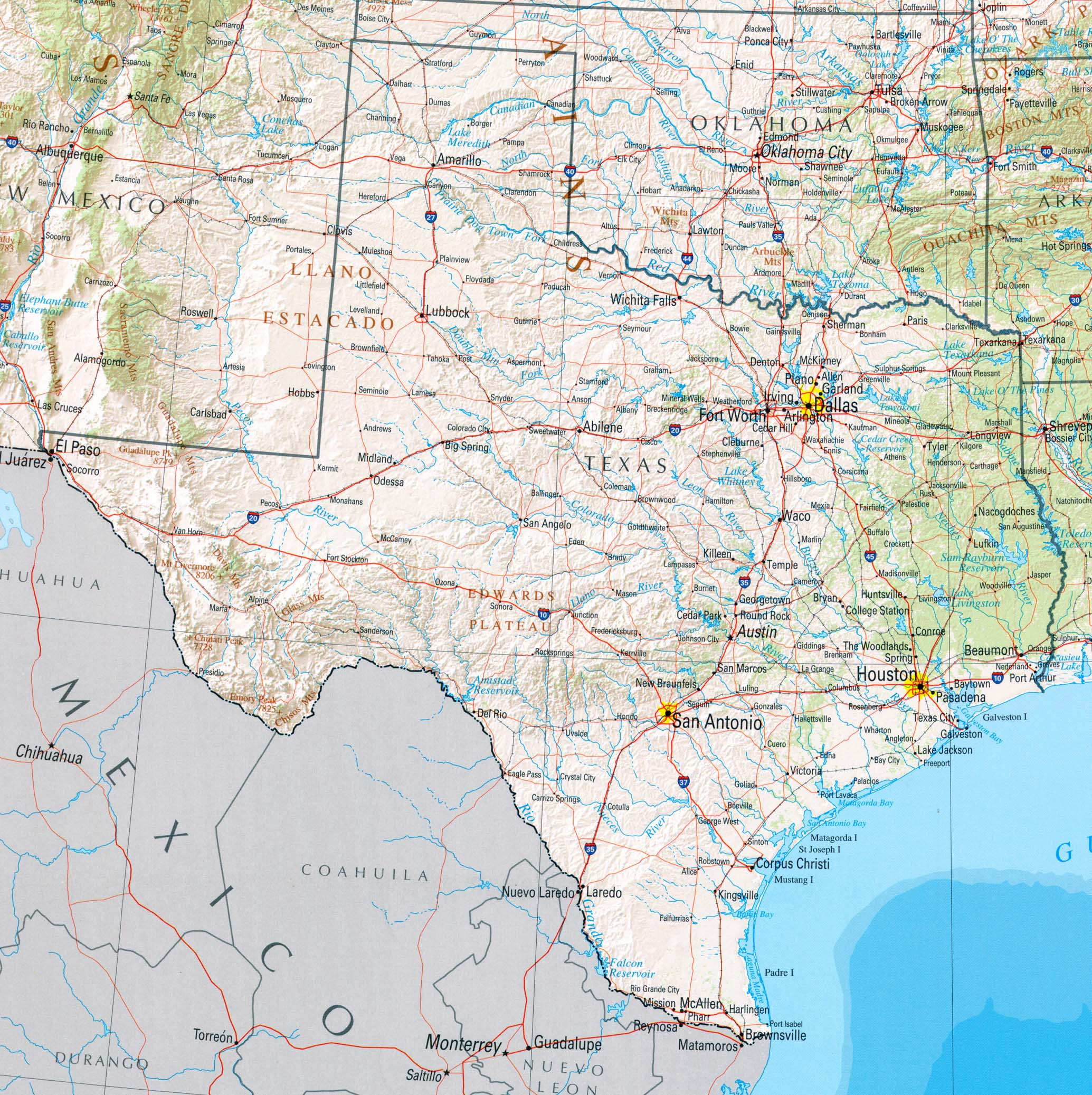 Texas Maps - Perry-Castañeda Map Collection - Ut Library Online - City Map Of Amarillo Texas