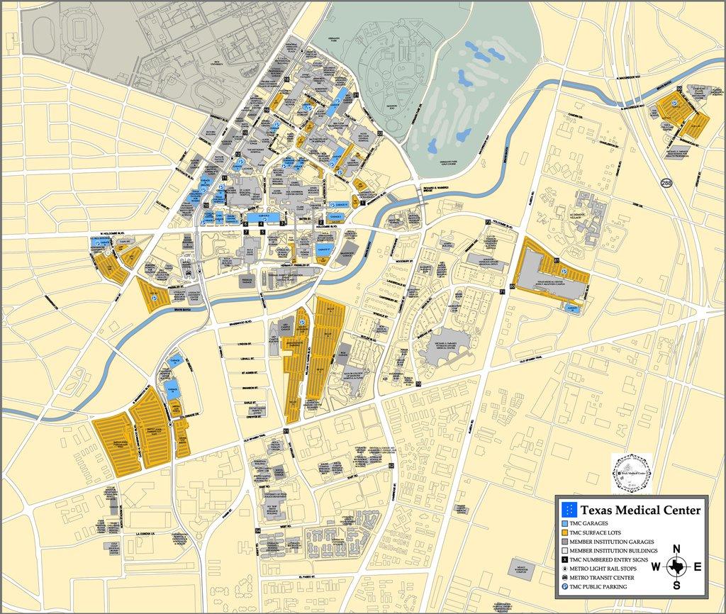 Texas Medical Center Map   Business Ideas 2013 - Texas Medical Center Map
