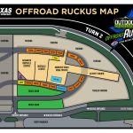 Texas Motor Speedway Camping Map   Texas Motor Speedway Parking Map