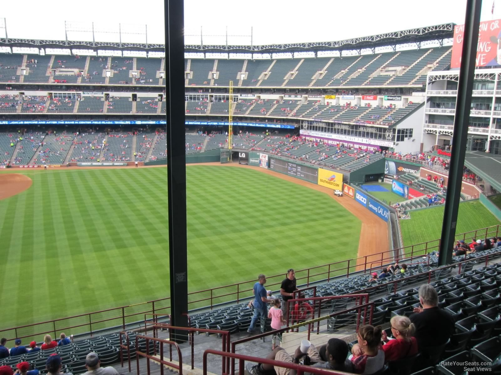 Texas Rangers Seating Chart All You Can Eat – Indaye - Texas Rangers Stadium Seating Map