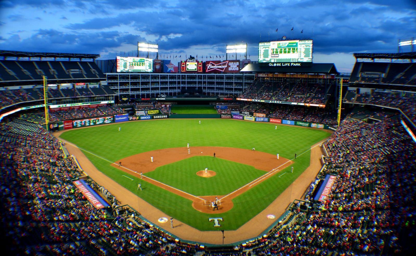 Texas Rangers Seating Chart   Rangers Seat Chart View Globe Life Park. - Texas Rangers Seat Map