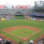 Texas Rangers Seating Guide   Globe Life Park (Rangers Ballpark   Texas Rangers Stadium Seating Map