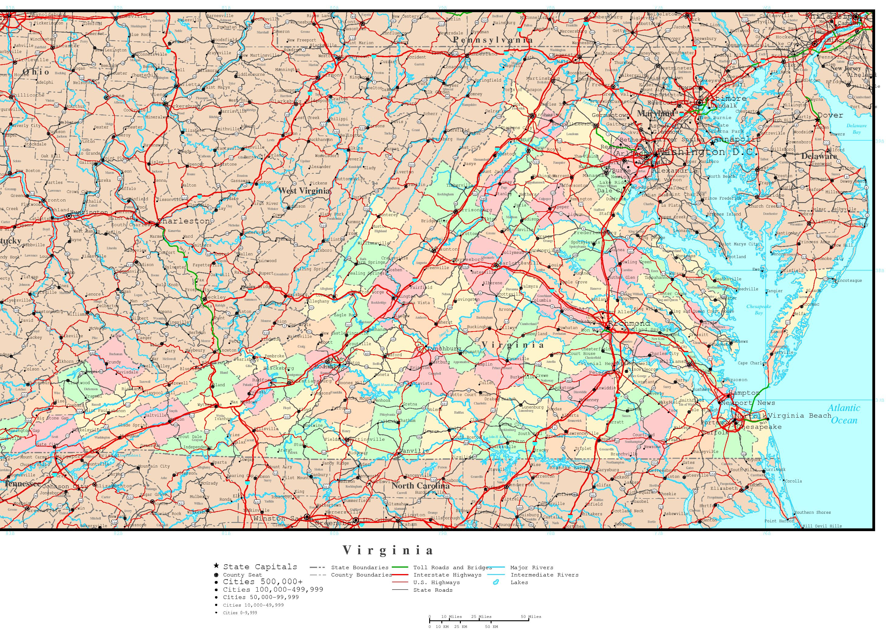 Texas Road Map With Counties And Cities And Travel Information - Map Of Texas Roads And Cities