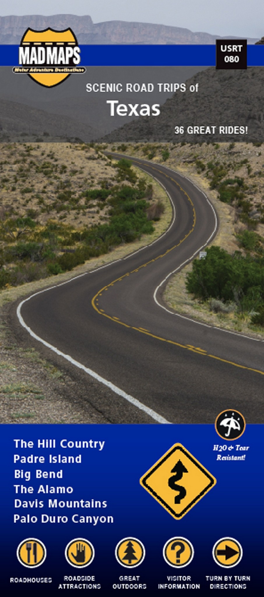 Texas Scenic Road Trips - Maps - Roadside Attractions Texas Map