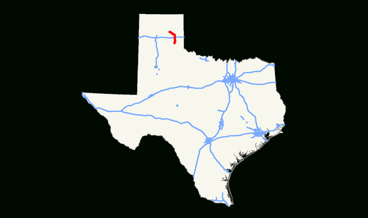 Texas State Highway 273 - Wikipedia - Pampa Texas Map