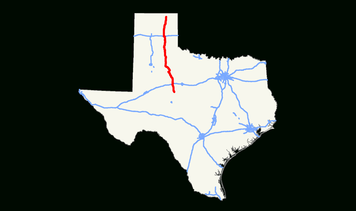 Texas State Highway 70 - Wikipedia - Pampa Texas Map