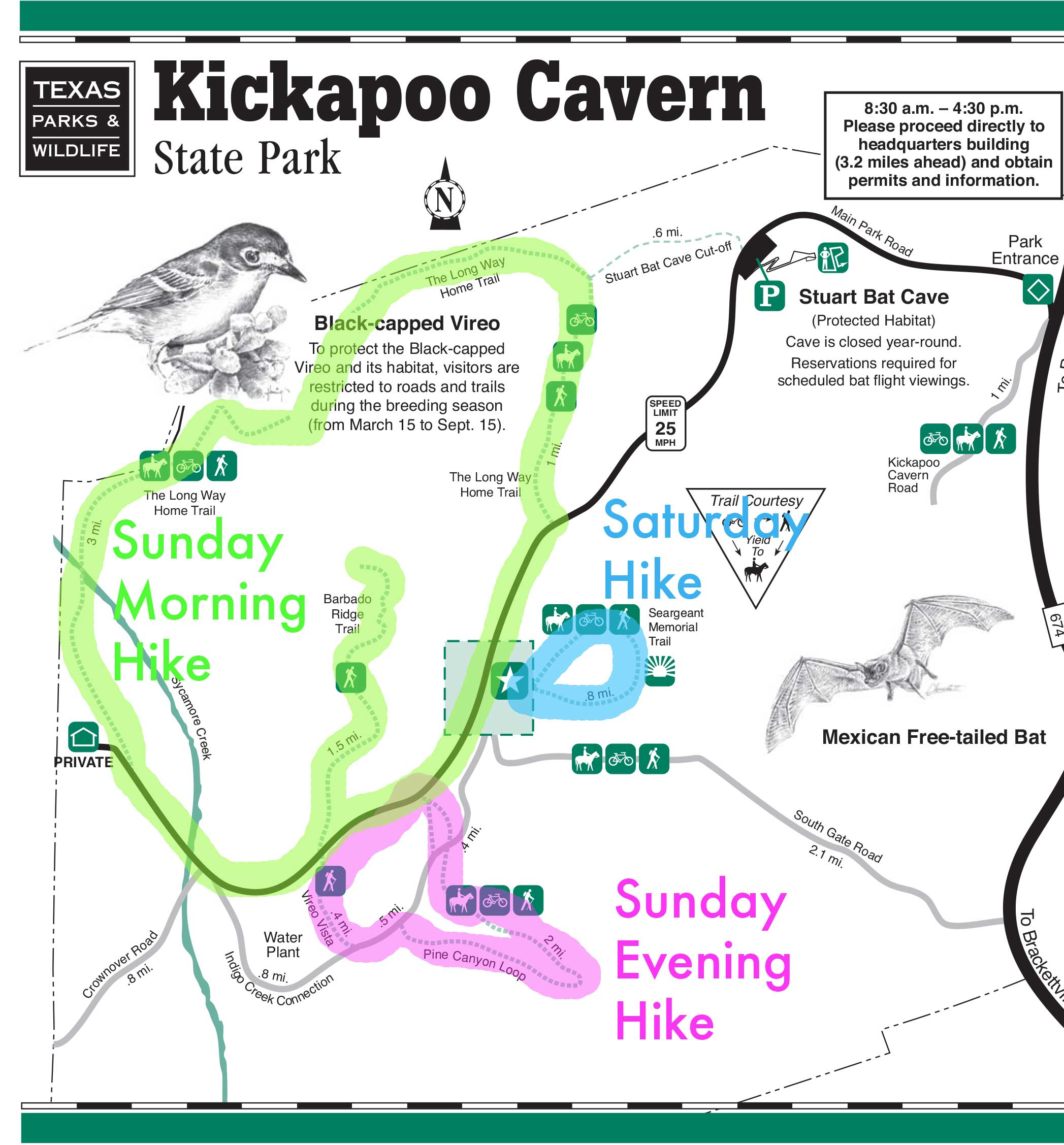 Texas State Parks | Hike. Camp. Hike. - Texas State Parks Camping Map