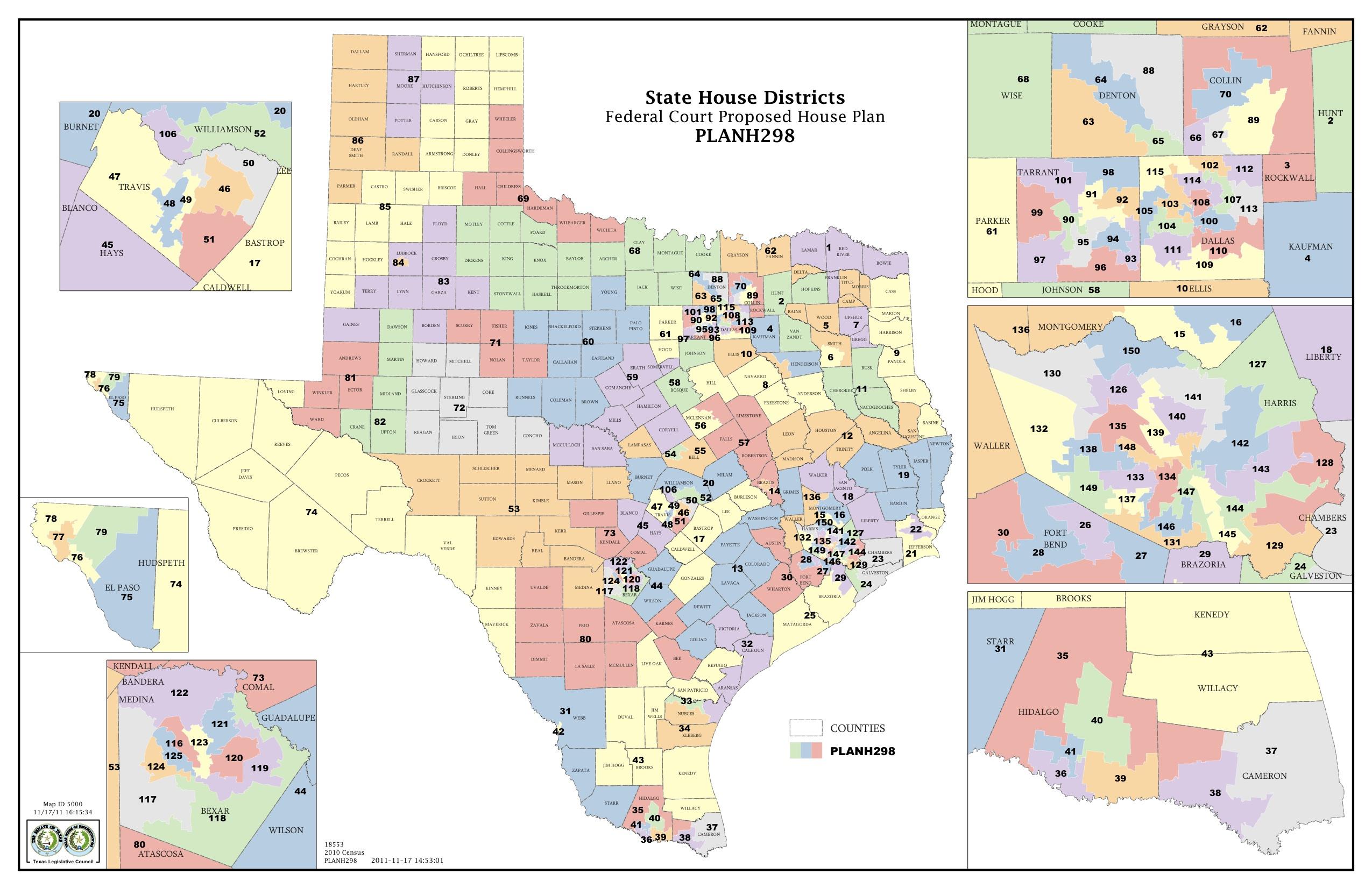 Texas State Representative District Map | Business Ideas 2013 - Texas State District Map