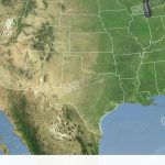 Texas State (Usa) Extruded. Satellite Map Stock Animation | 6527922   Satellite Map Of Texas