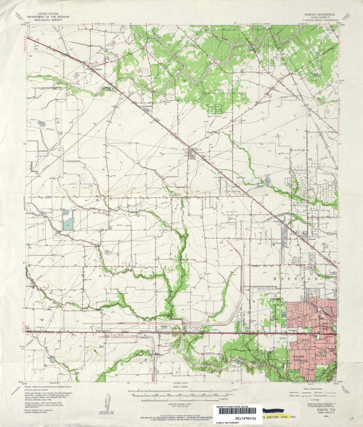 Alvin Texas Map