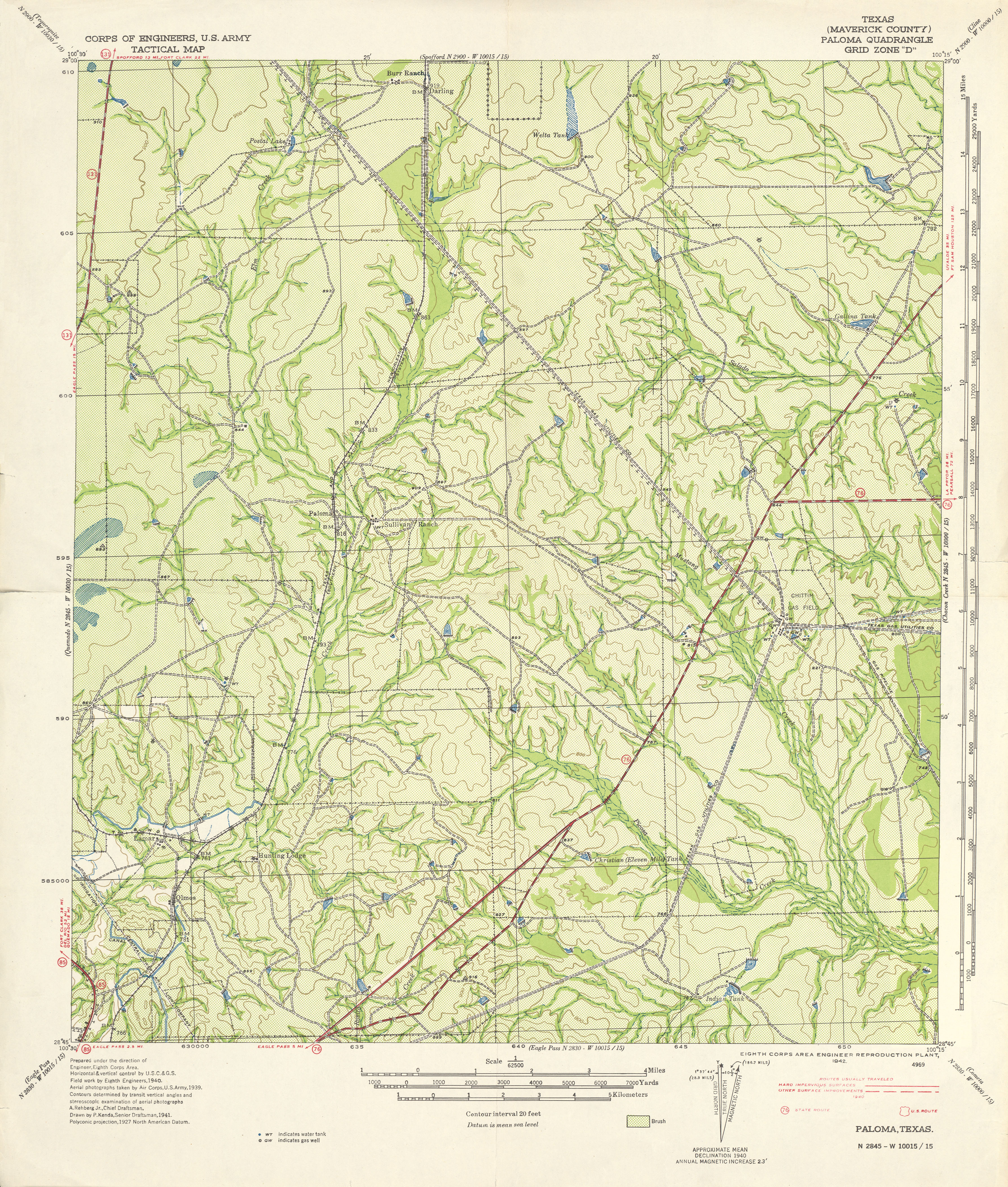 Texas Topographic Maps - Perry-Castañeda Map Collection - Ut Library - Pipe Creek Texas Map