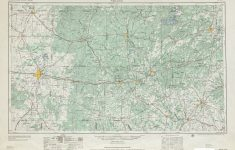 Texas Topographic Maps – Perry-Castañeda Map Collection – Ut Library – Snyder Texas Map