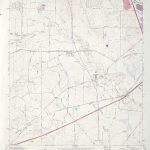Texas Topographic Maps   Perry Castañeda Map Collection   Ut Library   Terrell Texas Map