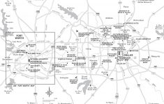 Texas Travel Maps – Printable Map Of Fort Worth Texas