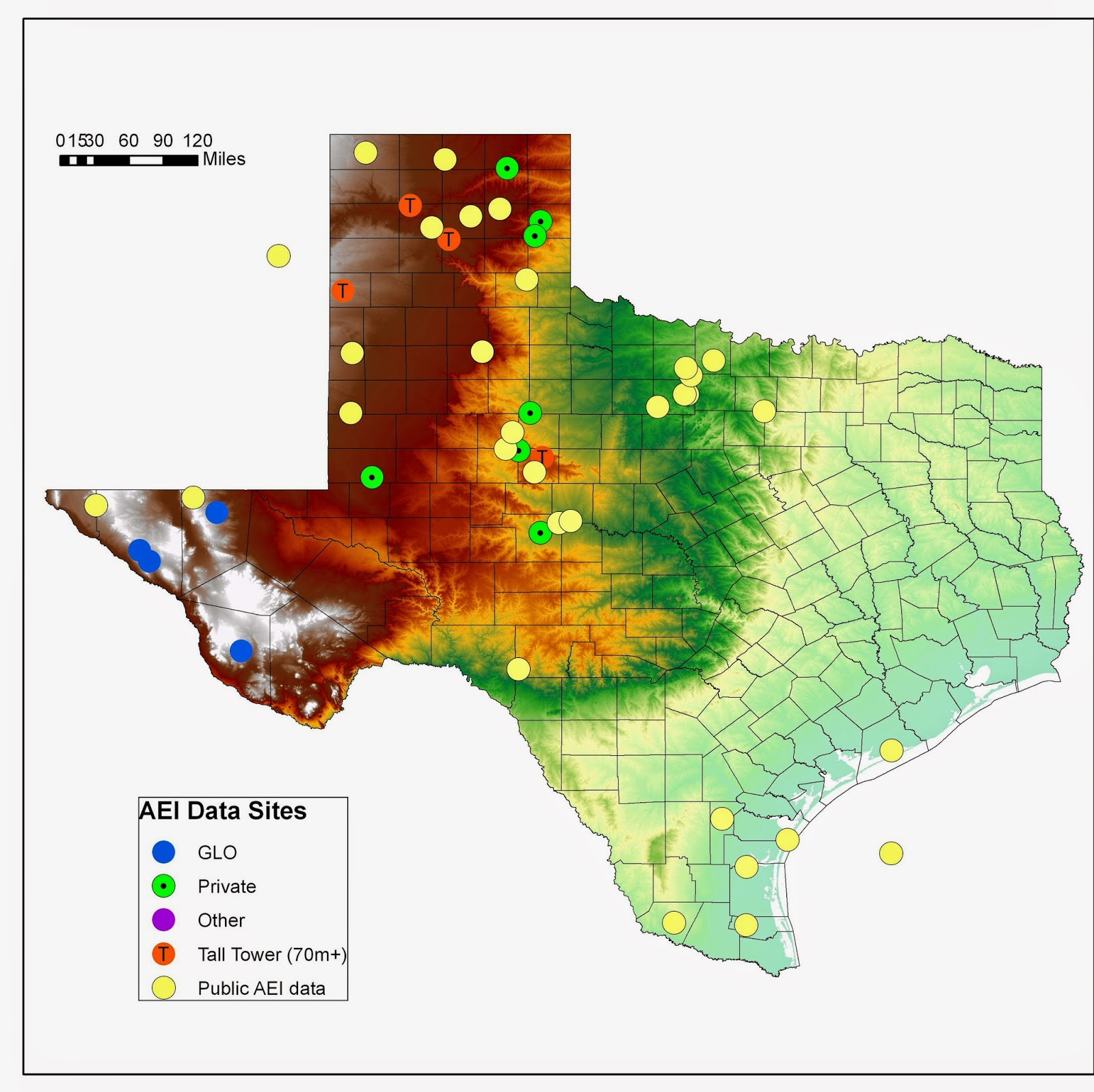 Texas Wind Energy Powers 3.3 Million Homes | Reve - Power Plants In Texas Map